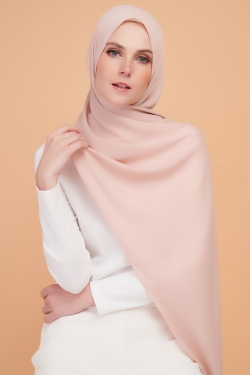 LARA PREMIUM SHAWL - FRENCH PINK