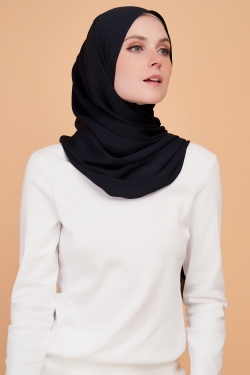 LARA PREMIUM SHAWL - DENIM