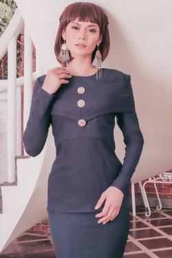Clara Kurung (Midnight Blue)