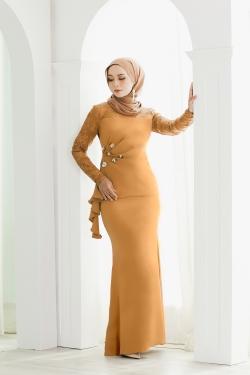 Inara kurung (Gold Mustard)
