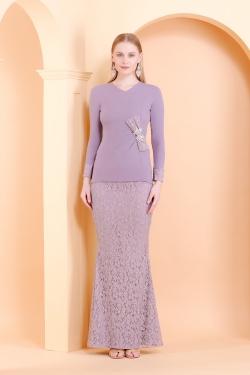 Jasmine Kurung (Lavender)